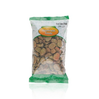 Goodness Foods Broad Beans Whole 500g