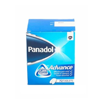 Panadol Advance with Optizorb Formulation 72 Tablets