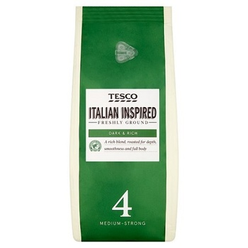Tesco Italian Blend Ground Coffee 454 g