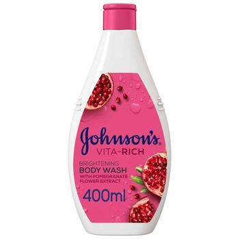 Johnson Body Care Vita-Rich Body Wash Pomegranate Flower 400ml
