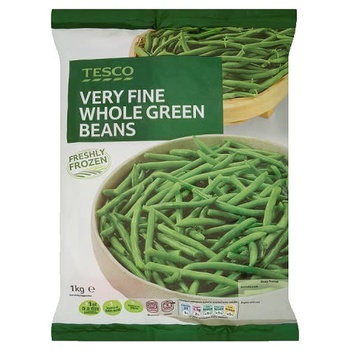Tesco Very Fine Whole Green Beans 1kg