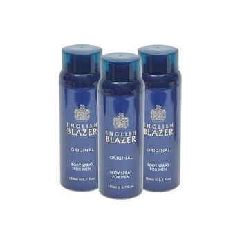 English Blazer Body Spray 3 x 150ml @ 33% Off