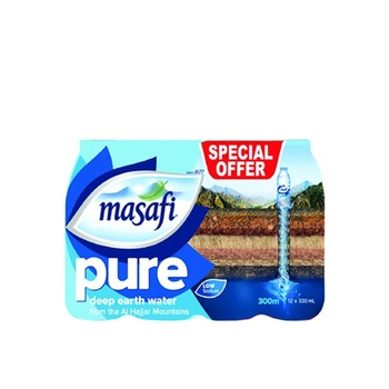 Masafi Water 12 x 330ml @ Special Price