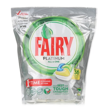Fairy Platinum All In One Lemon Dishwasher 36 Tablets