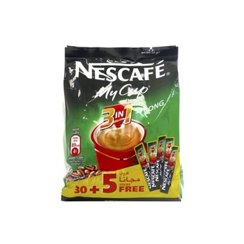 Nescafe My Cup 3 In 1 Strong 35pcs