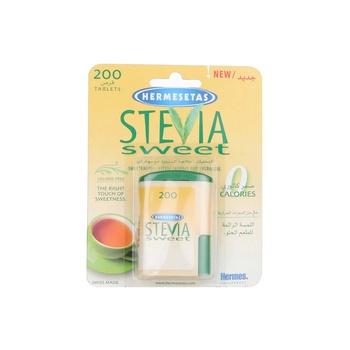Hermesetas Stevia Sweetener 200 Tablet