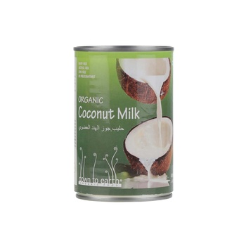 Organic Coconut Milk 400 ml