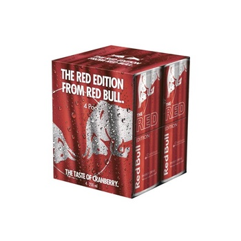 Red Bull Red Edition 4 x 250ml