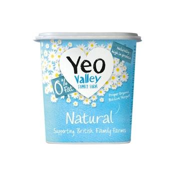 Yeo Organic Fat Free Natural Yoghurt 500g