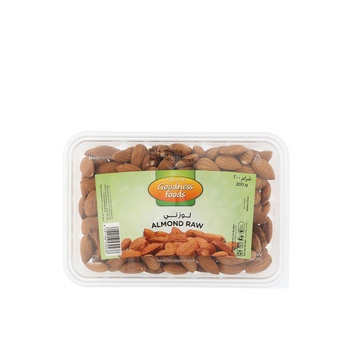 Goodness Foods Almond Raw (B) 200g