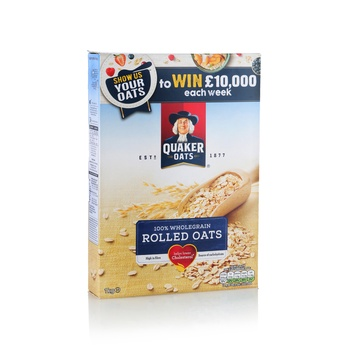 Quaker Oats Whole Grain Rolled 1kg