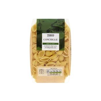 Tesco Conchiglie Pasta Shells 500g