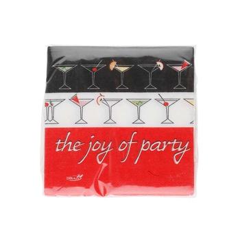 Dopla Disposables Joy of Party 25 Napkins 25x25cm x 2 Ply (18212)