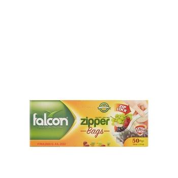 Falcon Freezer Zipper Bag 18x21cm 50s