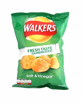 Walkers Salt & Vinegar 32.5g