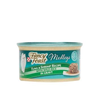 Purina Fancy Feast Medleys Tuna & Shrimp recipe Wet Cat Food Multicolour 85g