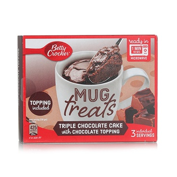 Betty Crocker Mug Treat Triple Chocolate Cake Mix 255g