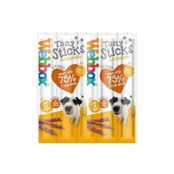 Webbox Dog Treat Tasty Sticks Chicken 30g (6 Pcs)