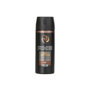 AXE Dark Temptation Deodorant and Body Spray for Men, 150 ml