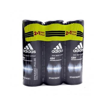 Adidas Dynamic Pulse Deodorant Body Spray 150ml pack of 3