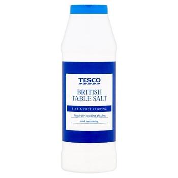 Tesco Table Salt 750g