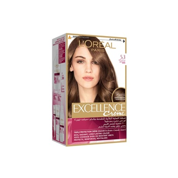 Loreal Excellence Creme Golden Light Brown 5.3