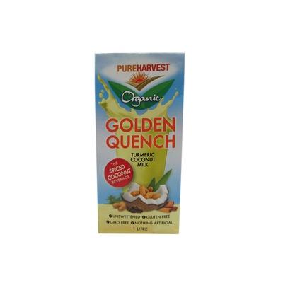 Pureharvest Organic Golden Quench  Turmeric Coconut Milk 1 ltr