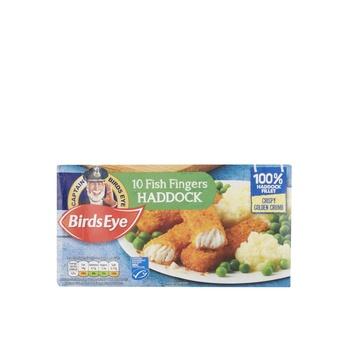 Birds Eye 10 Haddock Fish Fingrrs280g