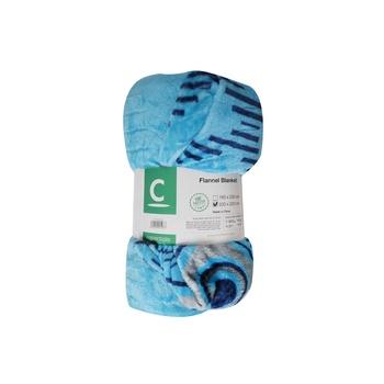 C-Essentials Printed Flannel Blanket