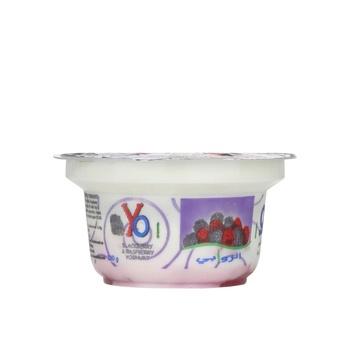 Al Rawabi Yo Yoghurt - Blackberry & Raspberry 130g