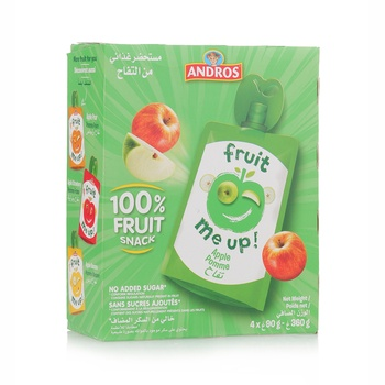 Andros Fruit Me Up Apple 4*90g