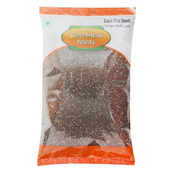 Goodness Foods Black Chia Seeds 500g