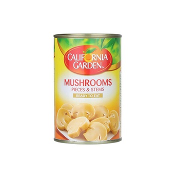 California Garden Mushroom Pieces and Stems 425g