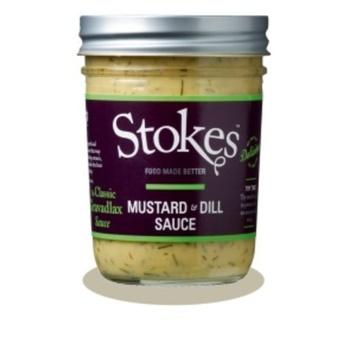 Stokes Mustard & Dill Sauce 213g
