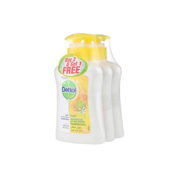 Dettol Fresh Handwash 2 x 200 ml + 200 ml Free
