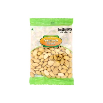 Almond Blanched Whole 100g