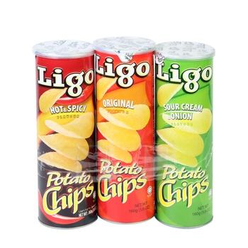 Ligo Potato Chips Assorted 160g 2+1Free