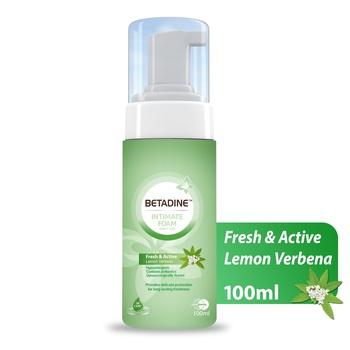 Betadine Intimat Foam Lemon Verbena 100ml