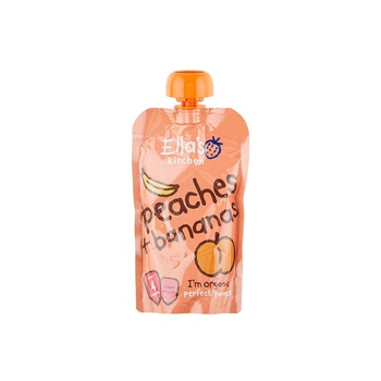 Ellas Kitchen Peaches & Bananas 120g