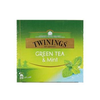Twinings Goldline  Green Tea & Mint Tea Bag 50's