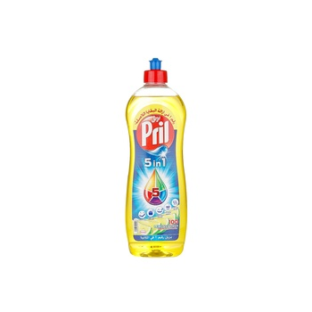 Pril Dish Washing Liquid Multi Power Lemon Flavour 1ltr