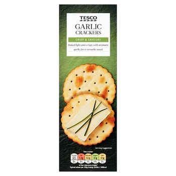 Tesco Garlic Cracker 200g