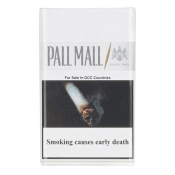 Pall Mall Cigarettes White 1Mg 20s
