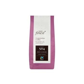Tesco Finest Fair Trade Guatemala Ground Coffee 227g