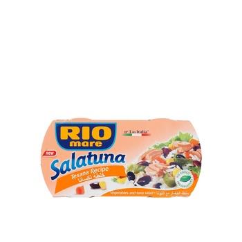 Rio Mare Texana Recipe Salatuna 160 x Pack of 2