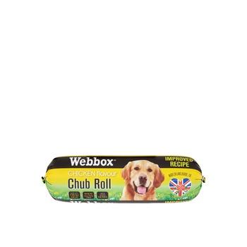 Webbox Dog Treat Chub Rolls Chicken 800g