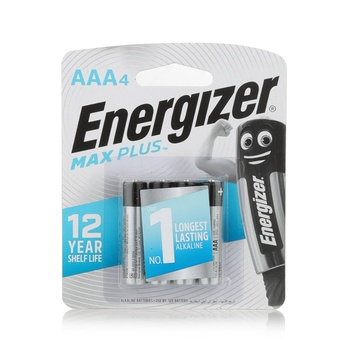 Energizer Maxplus Battery AAA (Pack 4)