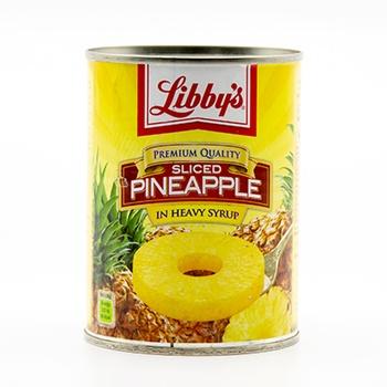 Libby Sliced Pineapple, 836g