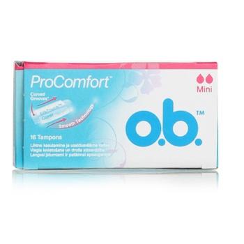 O.B. Tampons Pro Comfort Mini Tampons 16s