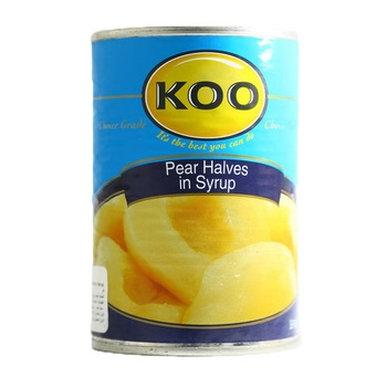 Koo Pear Halves In Syrup 410g